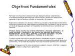 objetivos fundamentales24
