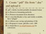 5 create pdf file from doc and upload it