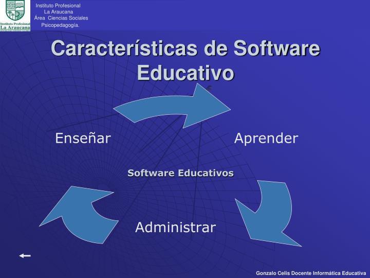 Caracter sticas de software educativo