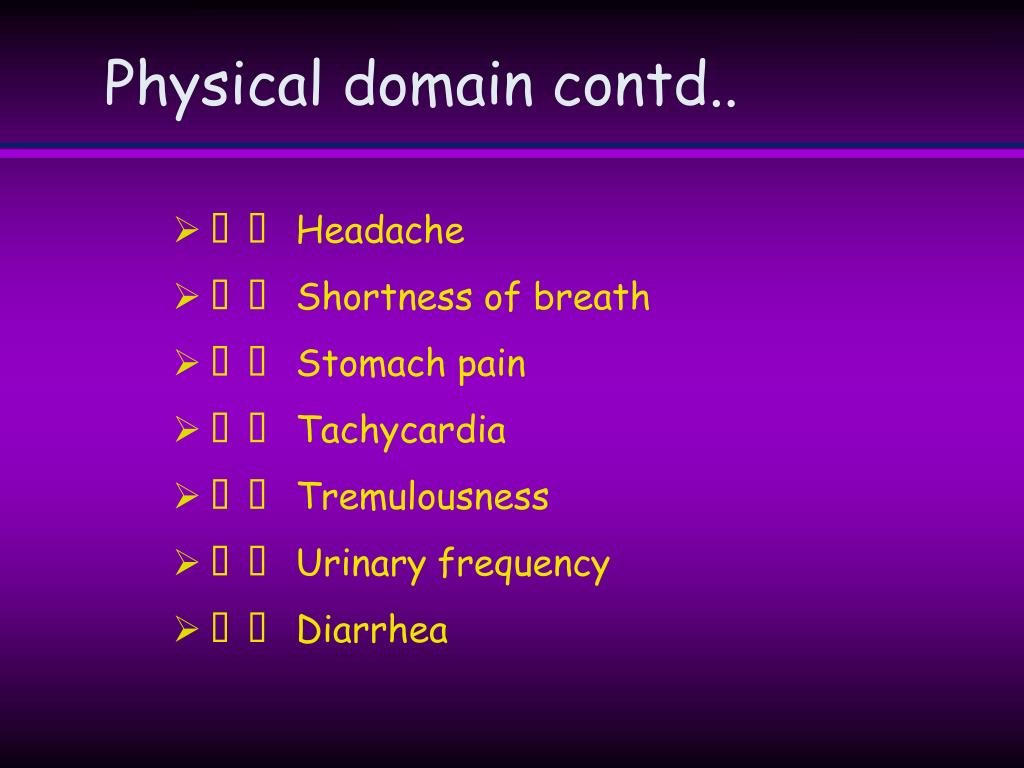 Physical domain contd..