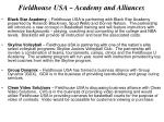 fieldhouse usa academy and alliances