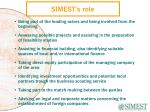simest s role