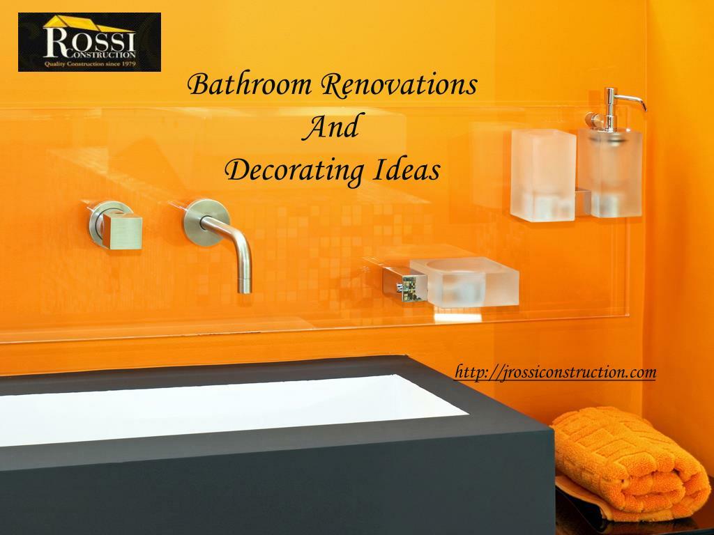 bathroom renovations and decorating ideas l.