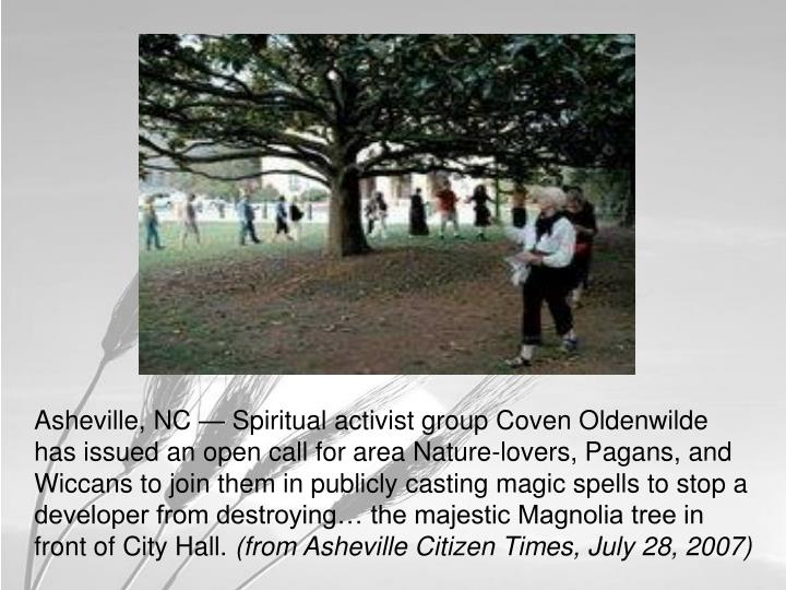 Please show up at Asheville City Hall on August 2 at 7 PM
