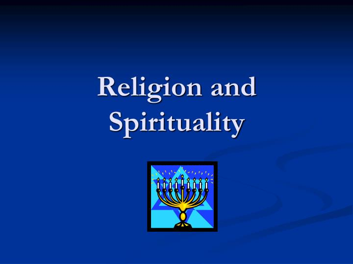 religion and spirituality n.