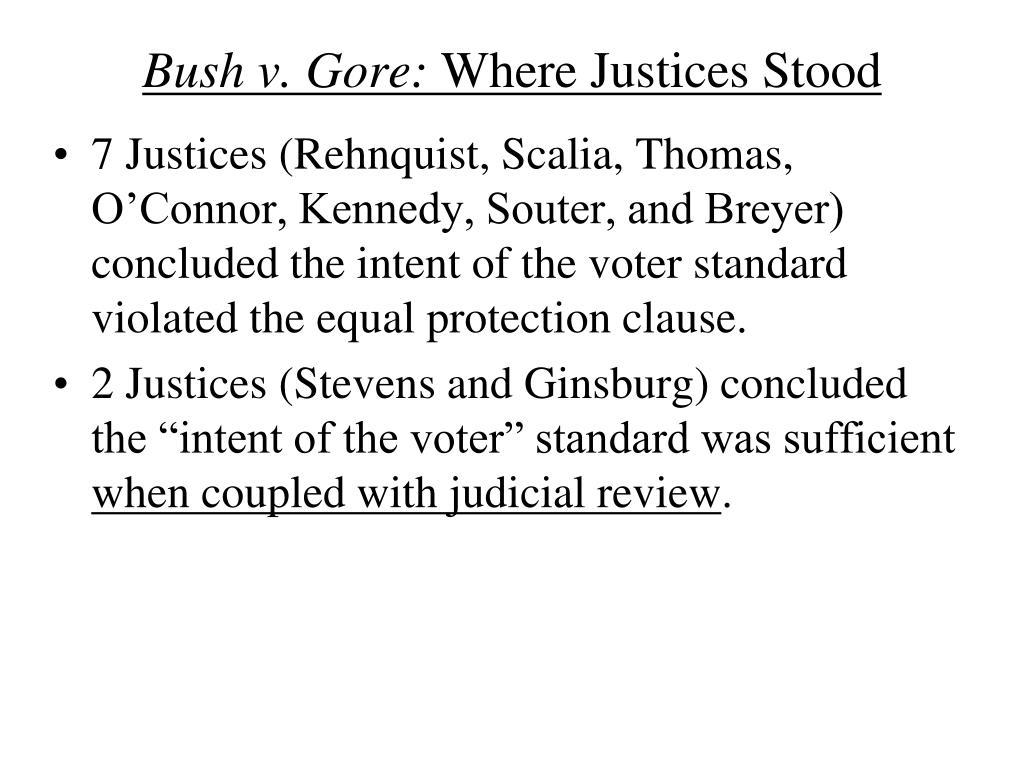 Bush v. Gore: