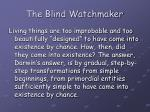 the blind watchmaker9