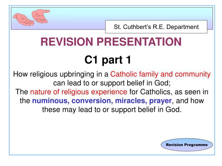 Revision presentation