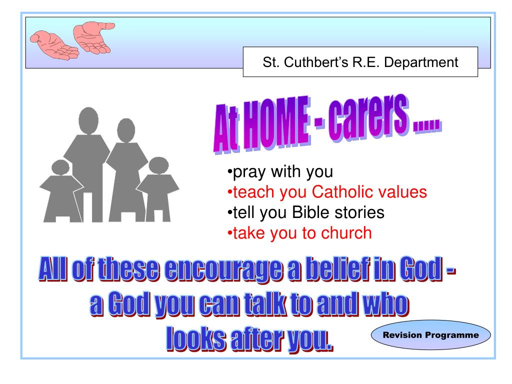At HOME - carers .....