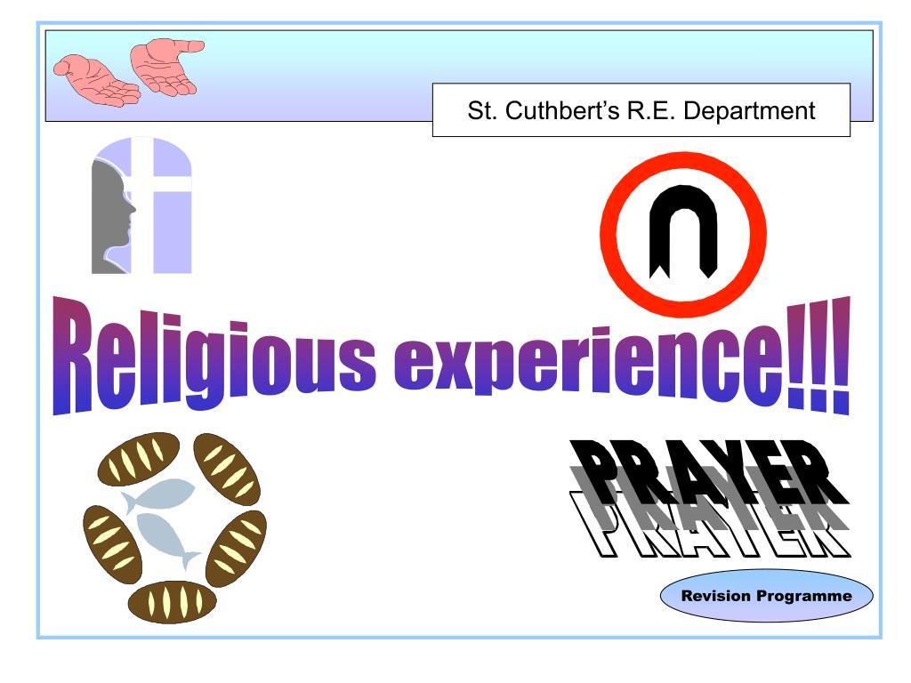 Religious experience!!!