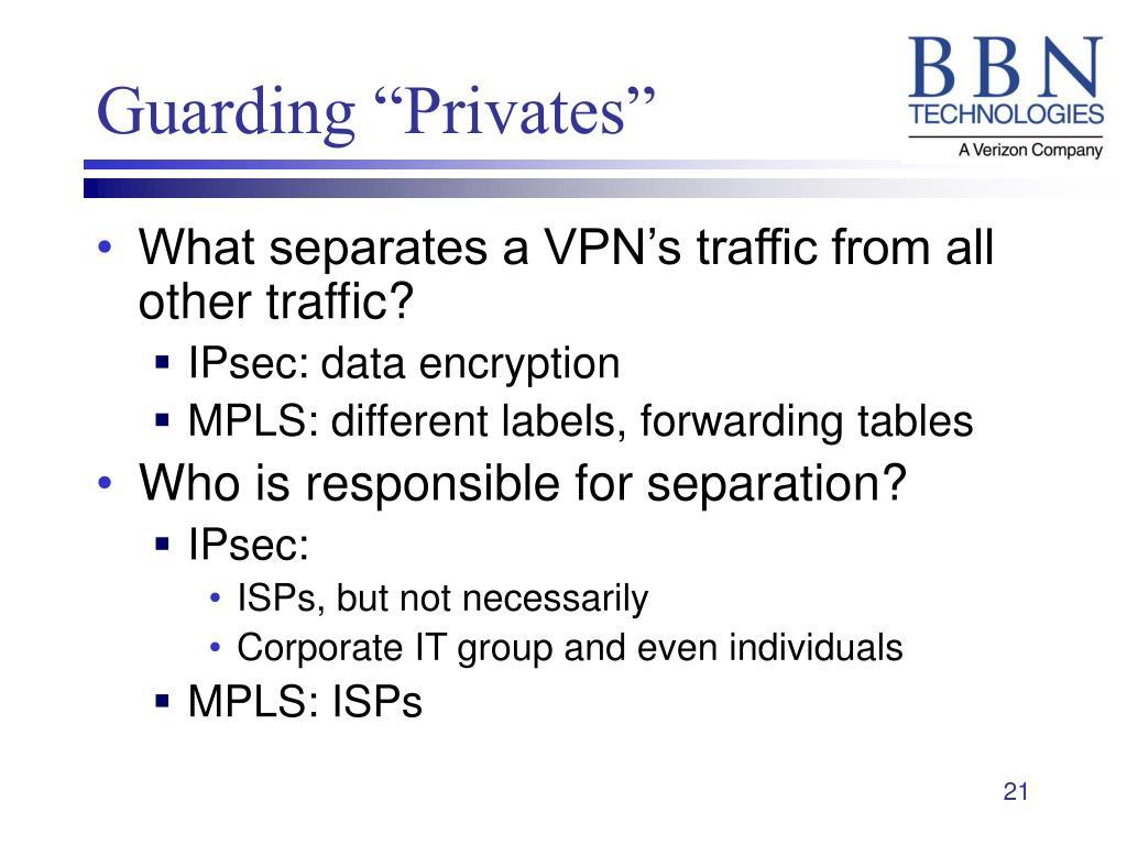 """Guarding """"Privates"""""""
