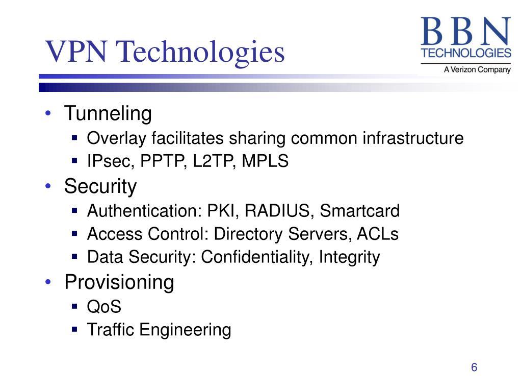 VPN Technologies
