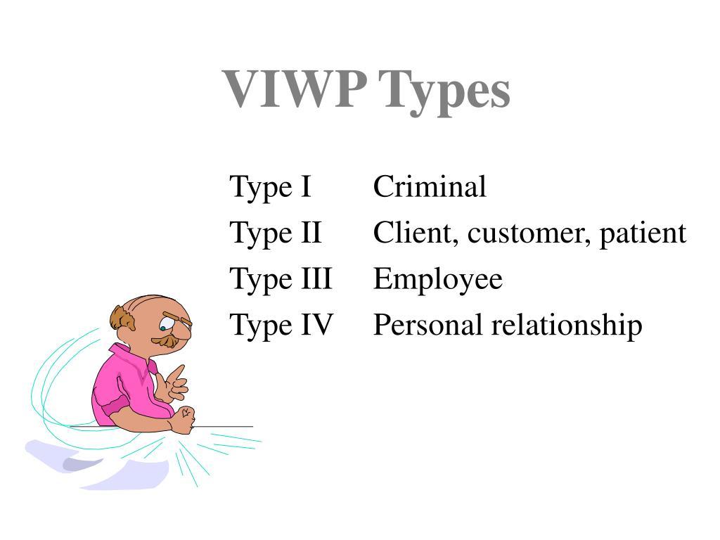 VIWP Types