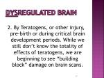 dys regulated brain47