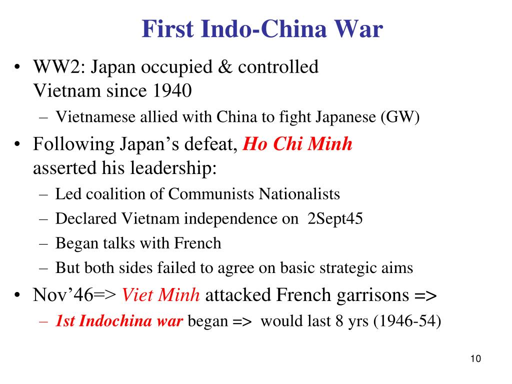 First Indo-China War