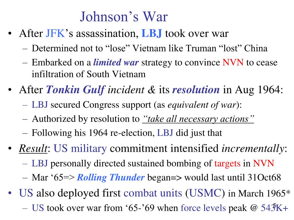 Johnson's War