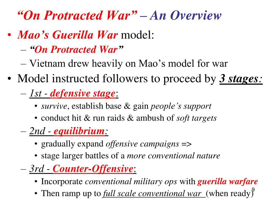 """On Protracted War"""