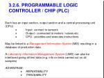 3 2 6 programmable logic controller chip plc