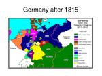 germany after 1815