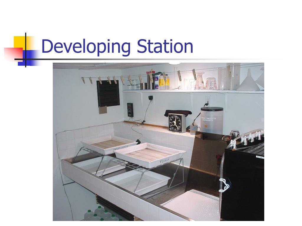 Developing Station