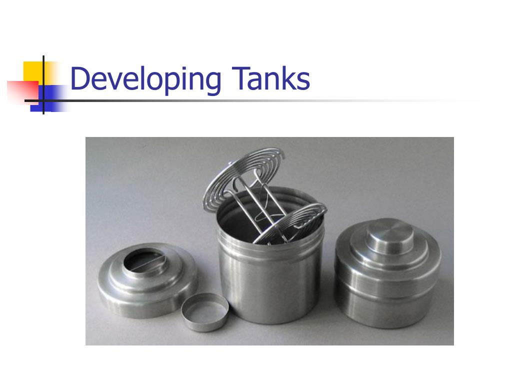 Developing Tanks