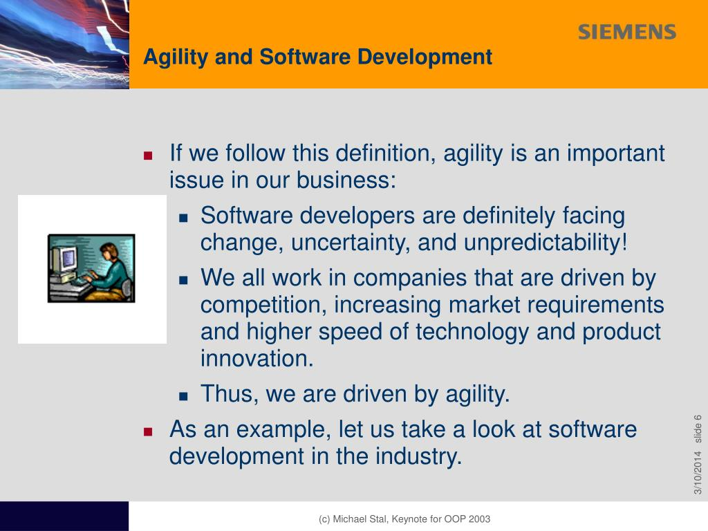 Agility and Software Development