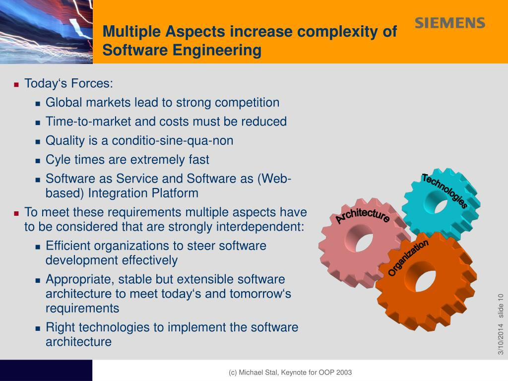 aspect of software engineering