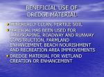 beneficial use of dredge material