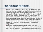 the promise of drama
