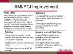 ami pci improvement