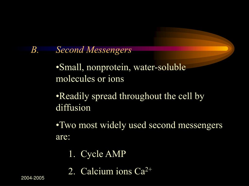 B.Second Messengers