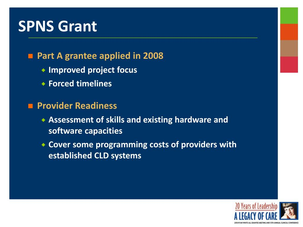 Part A grantee applied in 2008