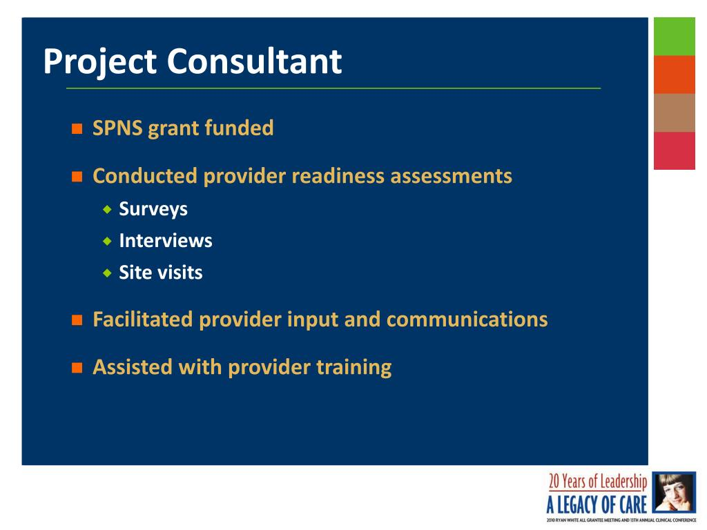 SPNS grant funded