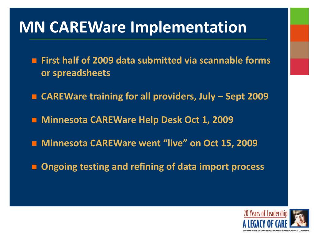 First half of 2009 data submitted via scannable forms or spreadsheets