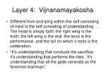 layer 4 vijnanamayakosha