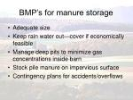 bmp s for manure storage