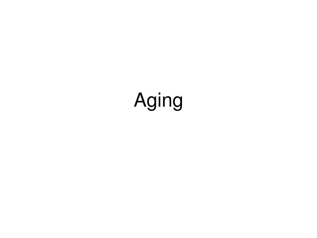 aging l.