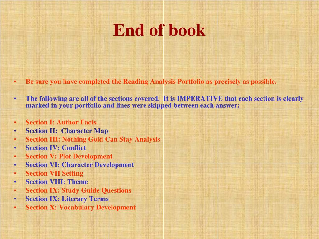 End of book