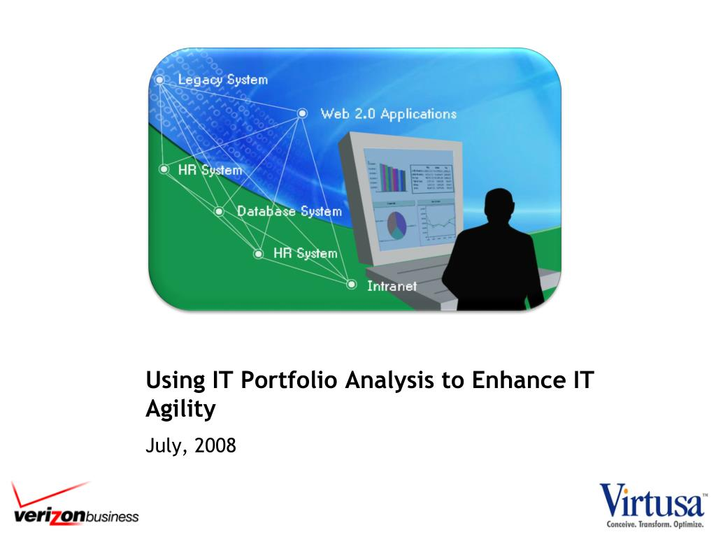 using it portfolio analysis to enhance it agility l.