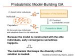 probabilistic model building ga1