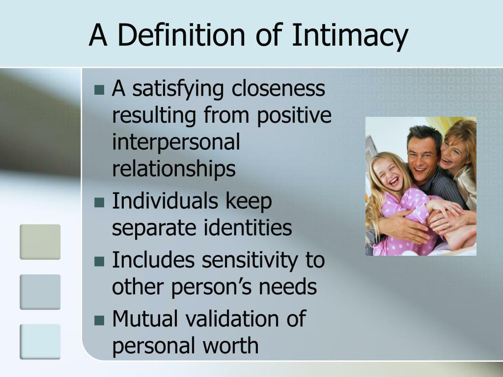 A Definition of Intimacy