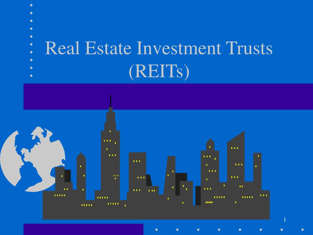 real estate investment trusts reits l.
