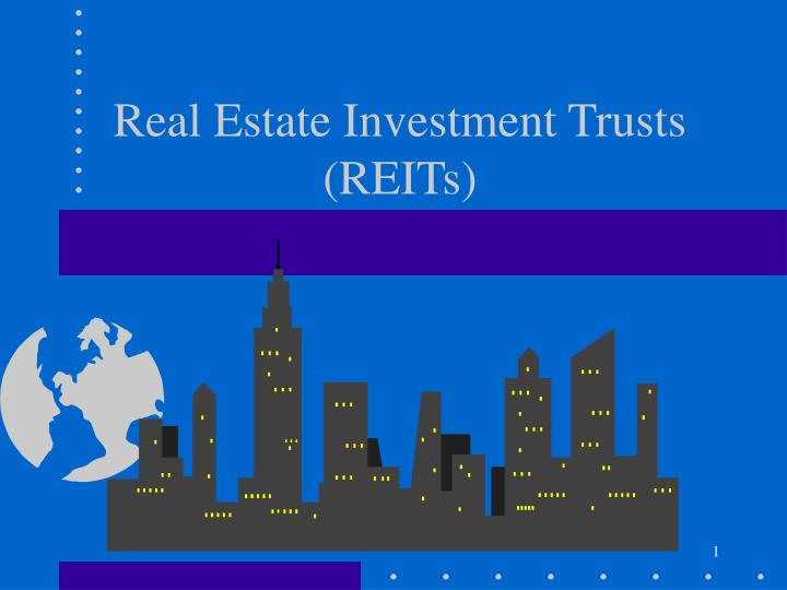 real estate investment trusts reits n.