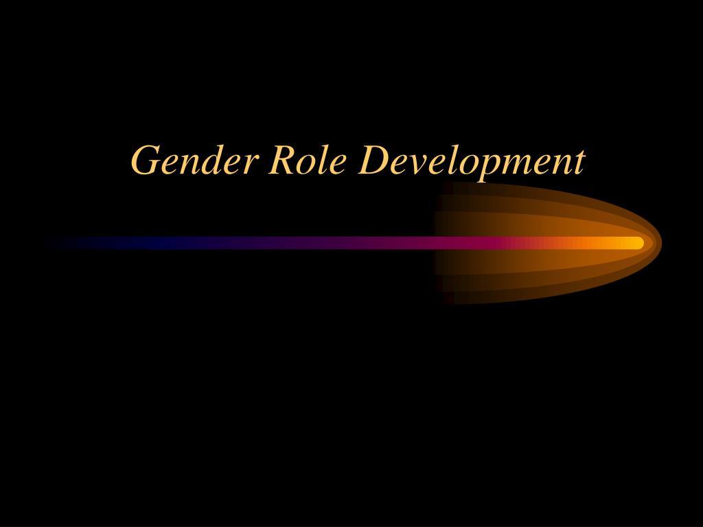gender role development l.