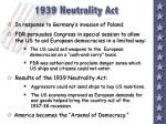 1939 neutrality act