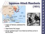 japanese attack manchuria 1931