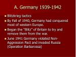 a germany 1939 1942