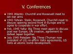 v conferences