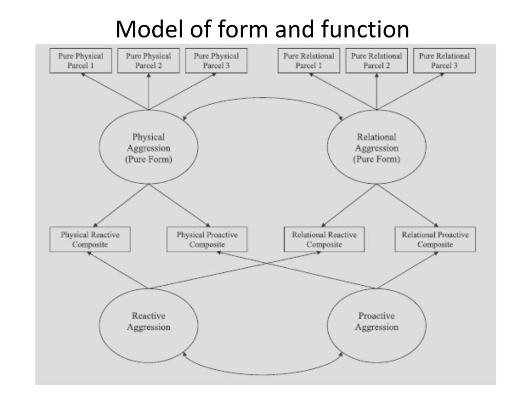 Model of form and function