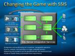 changing the game with ssis